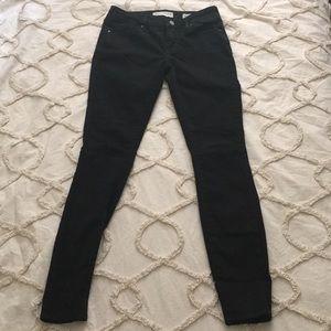 Pacsun Bullhead low rise skinniest fit black jeans